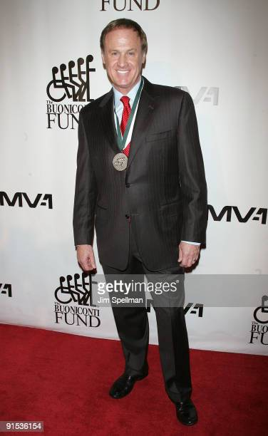 Honoree Rusty Wallace attends the 24th Annual Great Sports Legends Dinner at The Waldorf=Astoria on October 6 2009 in New York City