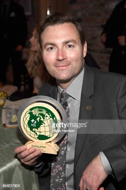 Honoree Ryan Brown attends the 14th Annual Global Green Pre Oscar Party at TAO Hollywood on February 22 2017 in Los Angeles California