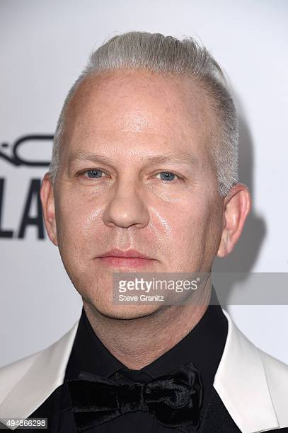 Honoree Ryan Murphy attends amfAR's Inspiration Gala Los Angeles at Milk Studios on October 29 2015 in Hollywood California