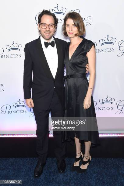 Honoree Sam Gold and Amy Herzog attend the 2018 Princess Grace Awards Gala at Cipriani 25 Broadway on October 16 2018 in New York City