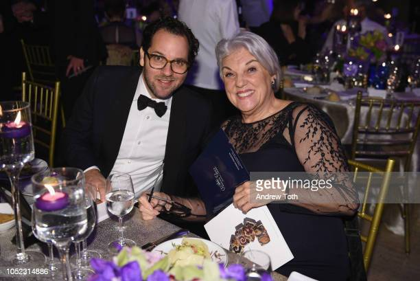 Honoree Sam Gold and Tyne Daly attend the 2018 Princess Grace Awards Gala at Cipriani 25 Broadway on October 16 2018 in New York City