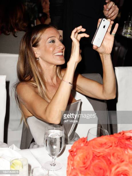Honoree Sarah Jessica Parker attends ELLE's 19th Annual Women In Hollywood Celebration at the Four Seasons Hotel on October 15, 2012 in Beverly...