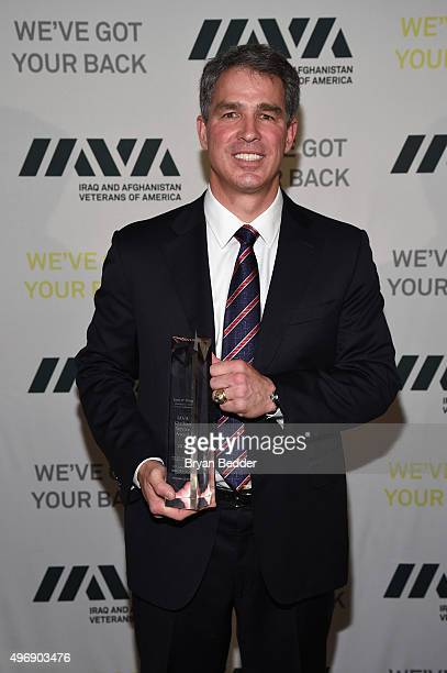 Honoree Scott Wine attends the 9th Annual IAVA Heroes Gala at the Cipriani 42nd Street on November 12 2015 in New York City