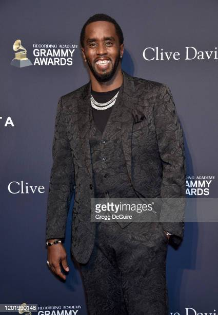Honoree Sean Diddy Combs attends the PreGRAMMY Gala and GRAMMY Salute to Industry Icons Honoring Sean Diddy Combs on January 25 2020 in Beverly Hills...