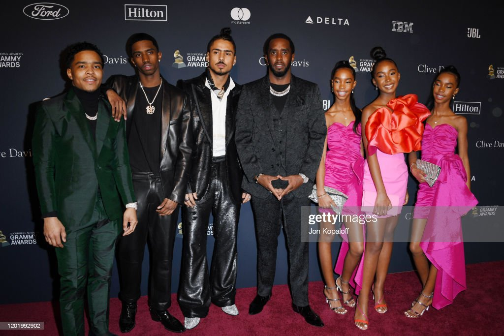 "Pre-GRAMMY Gala and GRAMMY Salute to Industry Icons Honoring Sean ""Diddy"" Combs - Arrivals : News Photo"