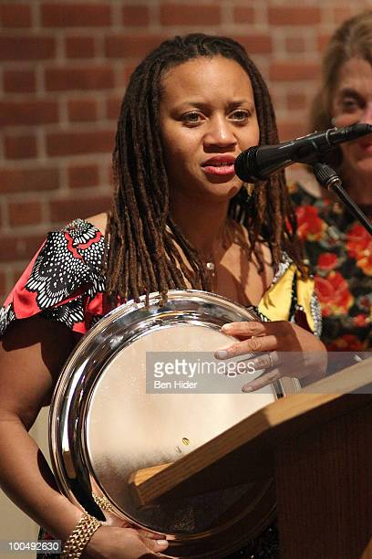 Honoree Sheena Wright attends the Urban Stages' 26th Annual Benefit Celebrating The Harlem Renaissance Then and Now at Loeb Central Park Boathouse on...