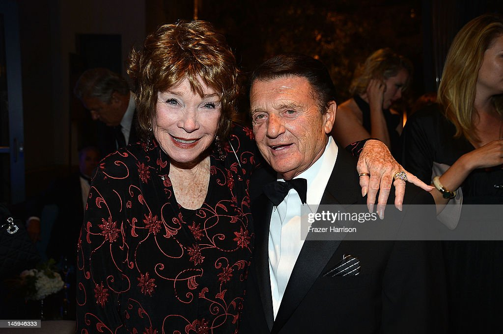 Honoree Shirley MacLaine and Jack Gilardi attend the after party for the 40th AFI Life Achievement Award honoring Shirley MacLaine held at Sony Pictures Studios on June 7, 2012 in Culver City, California. The AFI Life Achievement Award tribute to Shirley MacLaine will premiere on TV Land on Saturday, June 24 at 9PM