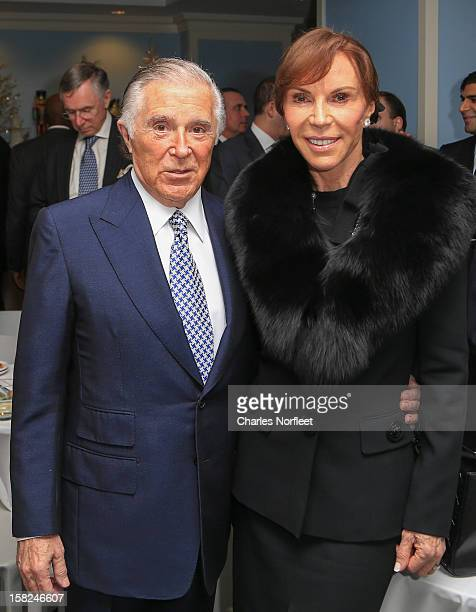 Honoree Sidney Kimmel Founder and former CEO of The Jones Group and his wife Caroline Davis attend the 4th Annual Make A Difference Event at the...