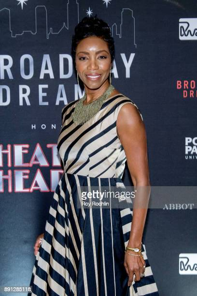Honoree singer Heather Headley attends the10th Annual Broadway Dreams Supper at The Plaza Hotel on December 12 2017 in New York City