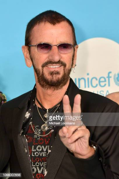 Honoree Sir Ringo Starr attends the 14th Annual UNICEF Snowflake Ball 2018 on November 27 2018 in New York City