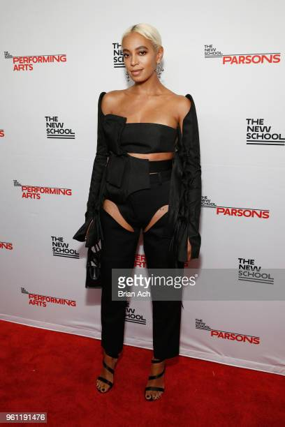 Honoree Solange Knowles attends the 70th Annual Parsons Benefit on May 21 2018 in New York City