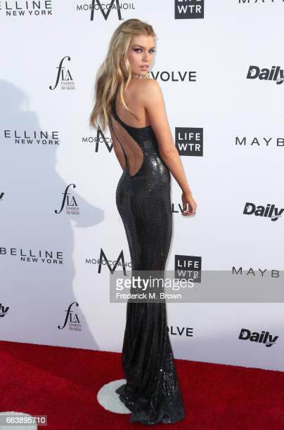 Honoree Stella Maxwell attends the Daily Front Row's 3rd Annual Fashion Los Angeles Awards at Sunset Tower Hotel on April 2 2017 in West Hollywood...