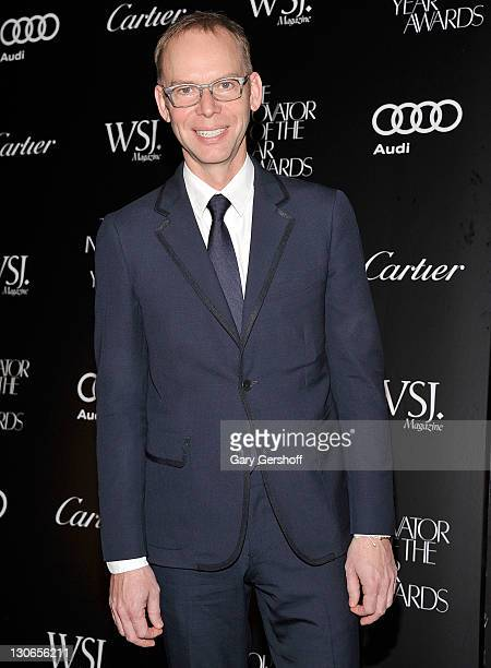 Honoree Steve Ells attends the 2011 WSJ Magazine Innovator of the Year Awards at the Museum of Modern Art on October 27 2011 in New York City