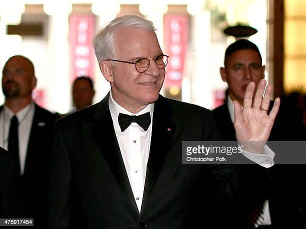 Honoree Steve Martin attends the 2015 AFI Life Achievement Award Gala Tribute Honoring Steve Martin at the Dolby Theatre on June 4 2015 in Hollywood...