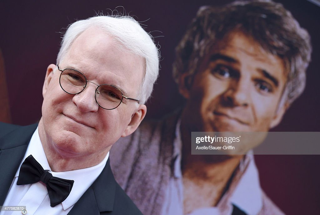 Honoree Steve Martin attends the 43rd AFI Life Achievement Award Gala at Dolby Theatre on June 4, 2015 in Hollywood, California.