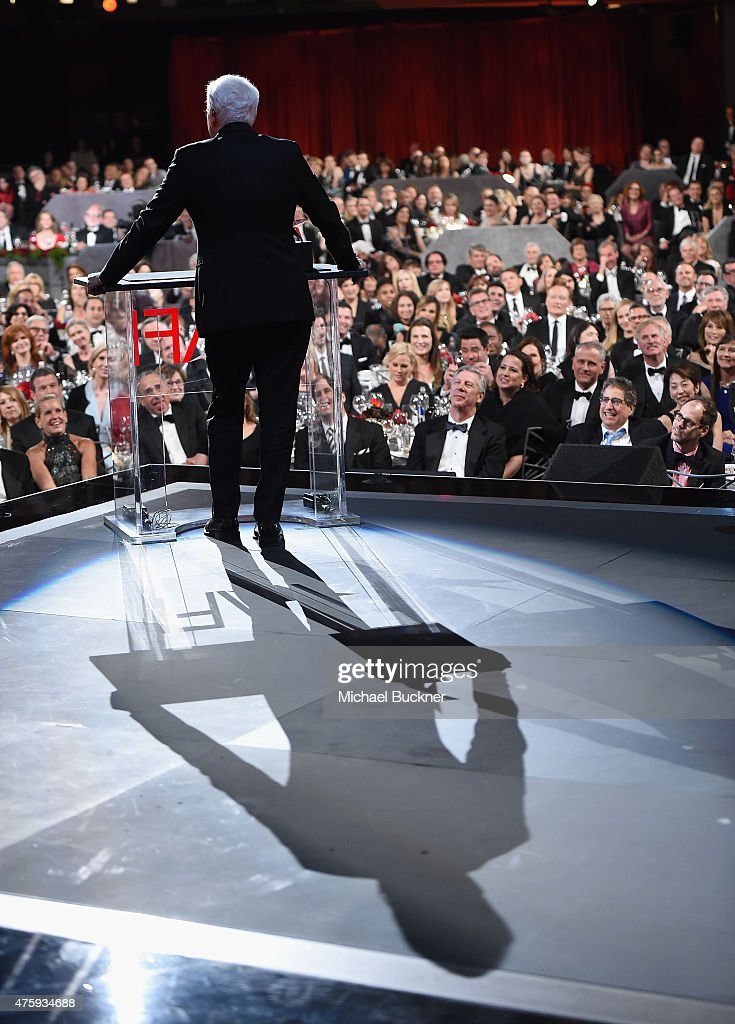 Honoree Steve Martin speaks onstage during the 2015 AFI Life Achievement Award Gala Tribute Honoring Steve Martin at the Dolby Theatre on June 4, 2015 in Hollywood, California. 25292_004