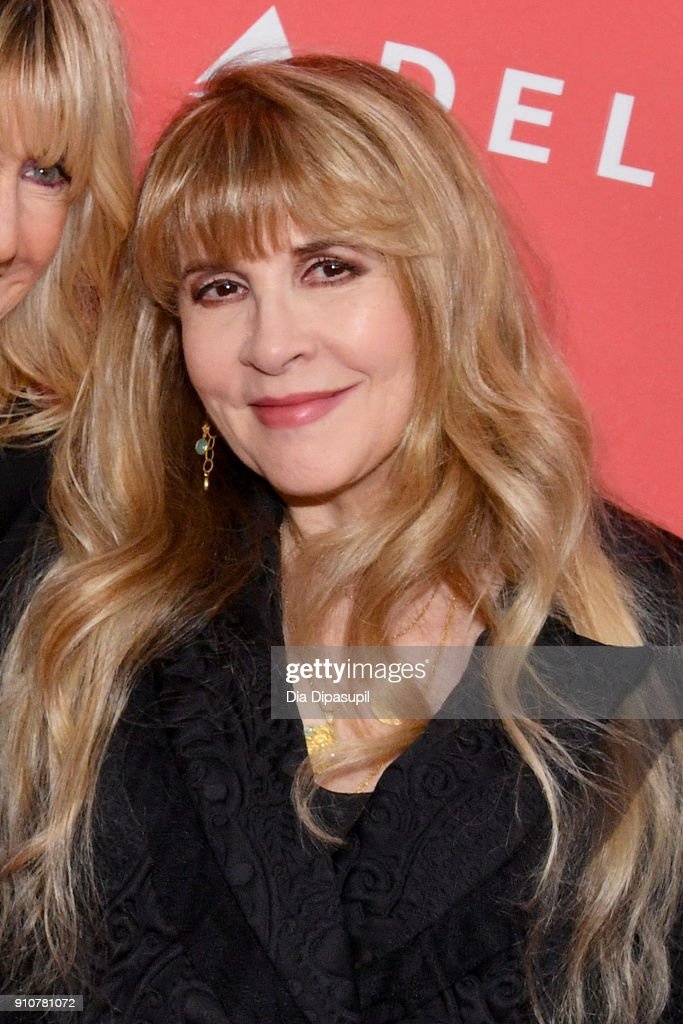 Honoree Stevie Nicks of music group Fleetwood Mac attends MusiCares Person of the Year honoring Fleetwood Mac at Radio City Music Hall on January 26, 2018 in New York City.