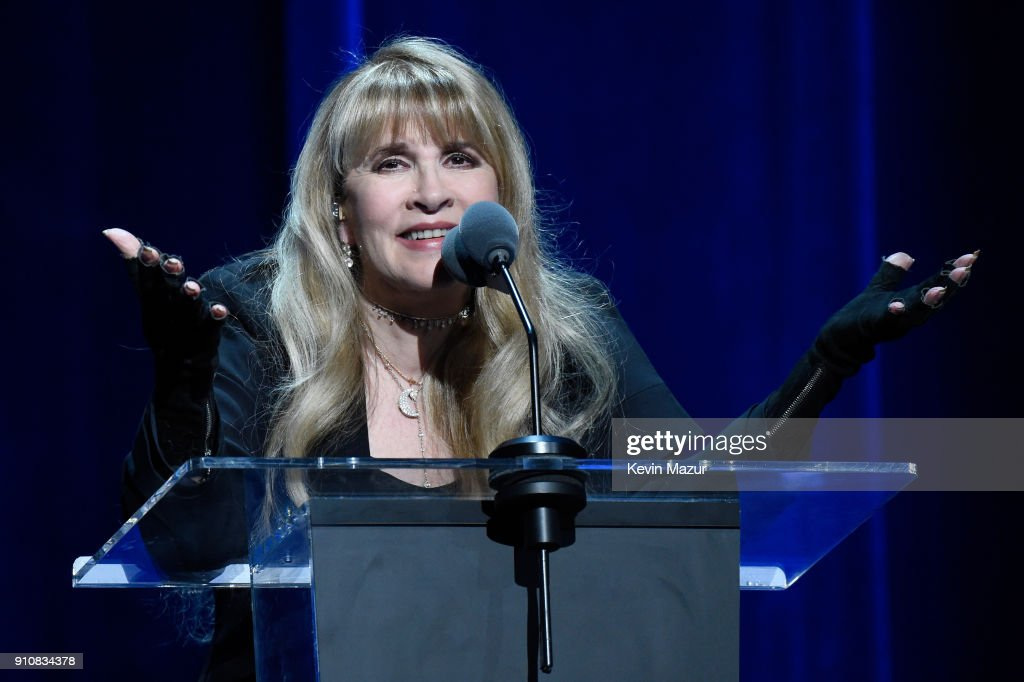 60th Annual GRAMMY Awards - MusiCares Person Of The Year Honoring Fleetwood Mac - Inside : News Photo