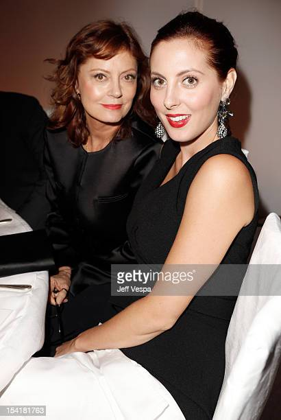 Honoree Susan Sarandon and actress Eva Amurri attend ELLE's 19th Annual Women In Hollywood Celebration at the Four Seasons Hotel on October 15 2012...