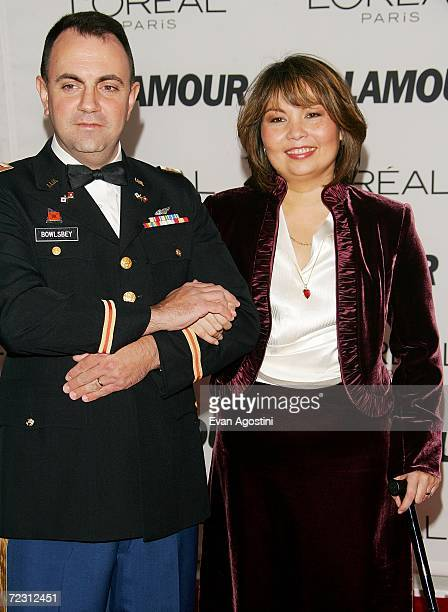 Honoree Tammy Duckworth and her husband Bryan Bowlsbey attend Glamour Magazine's Glamour Women Of The Year Awards 2006 at Carnegie Hall October 30...