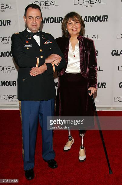 Honoree Tammy Duckworth and her husband Bryan Bowlsbey attend the 17th Annual Glamour Women Of The Year Awards hosted by Glamour Magazine at Carnegie...