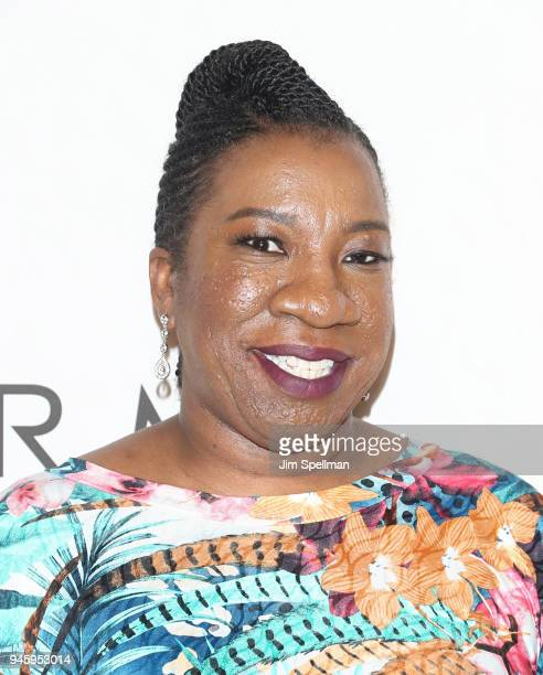 Honoree Tarana Burke attends the 2018 Variety's Power of Women New York at Cipriani Wall Street on April 13 2018 in New York City