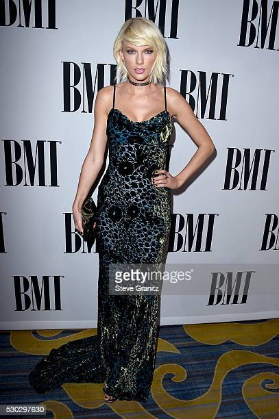 Honoree Taylor Swift attends the 64th Annual BMI Pop Awards at the Beverly Wilshire Four Seasons Hotel on May 10 2016 in Beverly Hills California