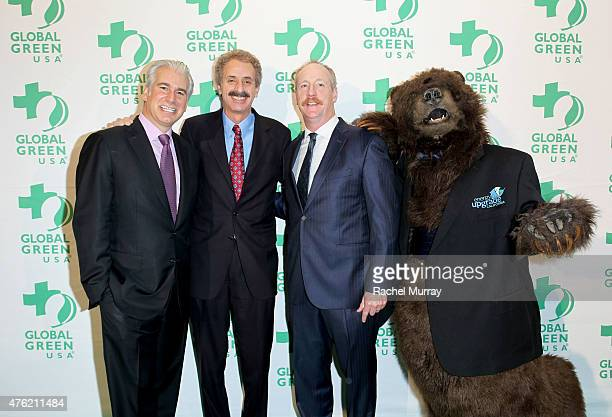 Honoree The Angeleno Group CoFounder Daniel Weiss City Attorney Mike Feuer and actor Matt Walsh attend the Global Green USA 19th Annual Millennium...
