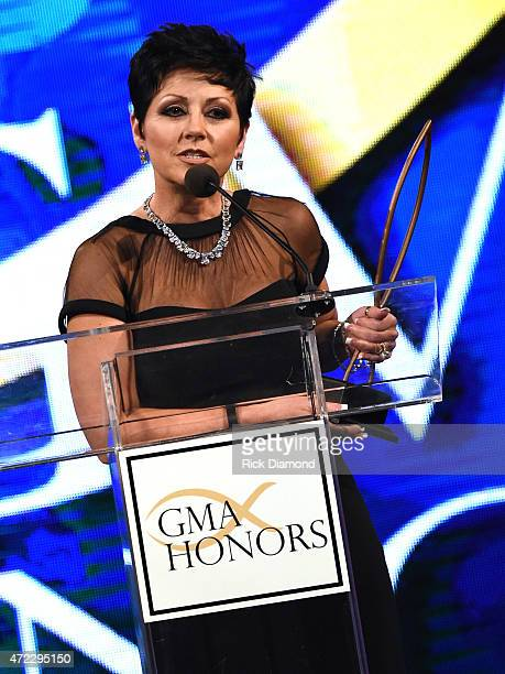 Honoree The Bridge Ministry Candy Christmas during The 2nd Annual GMA Honors at Allen Arena Lipscomb University on May 5 2015 in Nashville Tennessee
