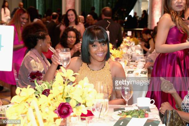 Honoree Tiffany Haddish attends the 2018 Essence Black Women In Hollywood Oscars Luncheon at Regent Beverly Wilshire Hotel on March 1 2018 in Beverly...