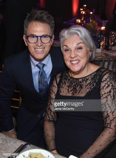 Honoree Tim Daly and Tyne Daly attend the 2018 Princess Grace Awards Gala at Cipriani 25 Broadway on October 16 2018 in New York City