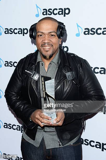 Honoree Timberland arrives at the 2016 ASCAP Screen Music Awards at The Beverly Hilton Hotel on March 24 2016 in Beverly Hills California