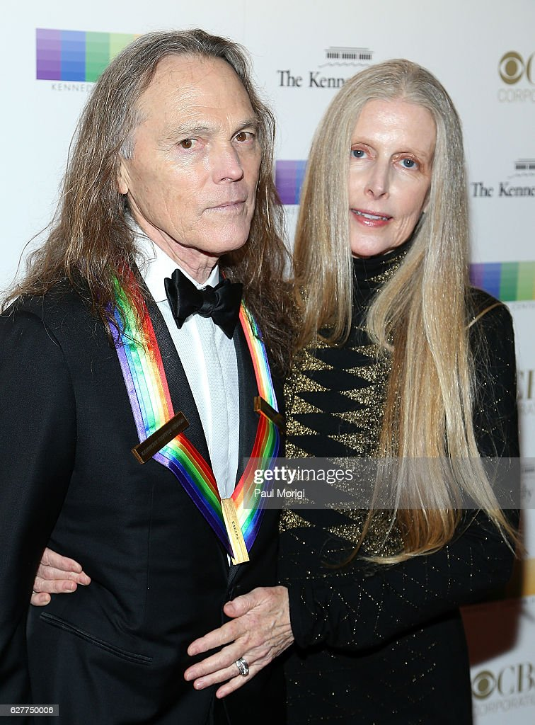 Honoree Timothy B  Schmit of the Eagles and his wife Jean