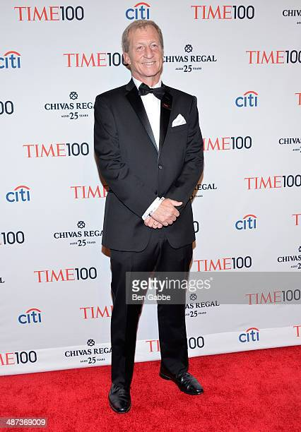 Honoree Tom Steyer attends the TIME 100 Gala TIME's 100 most influential people in the world at Jazz at Lincoln Center on April 29 2014 in New York...