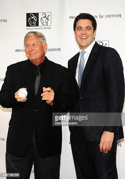 Honoree Tommy John and TV Journalist Josh Elliott attend the 6th annual Freeing Voices Changing Lives Benefit Gala at Tribeca Rooftop on June 11 2012...