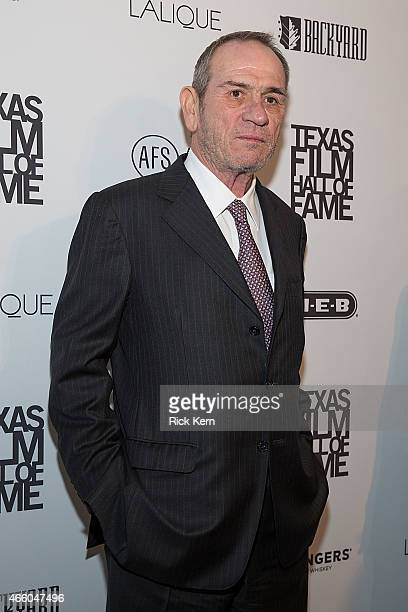Honoree Tommy Lee Jones attends the Austin Film Society's 15th Annual Texas Film Awards at Austin Studios on March 12, 2015 in Austin, Texas.