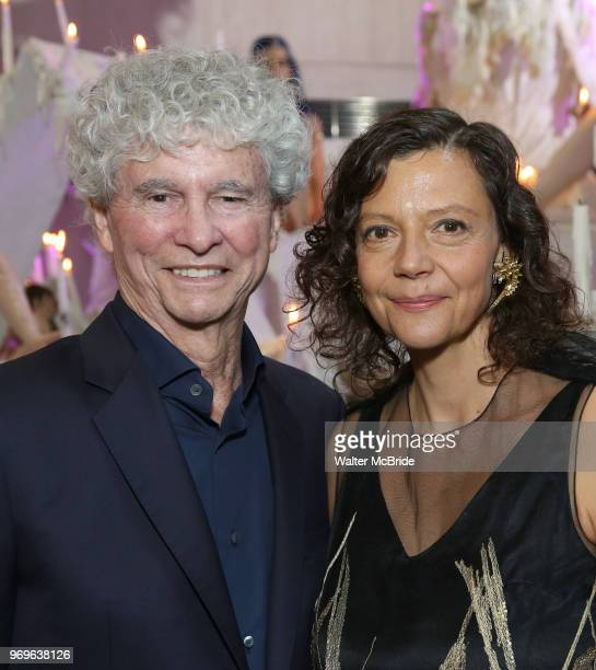 Honoree Tony Bechara and Chashama Founder Anita Durst during The Chashama Gala at 4 Times Square on June 7 2018 in New York City