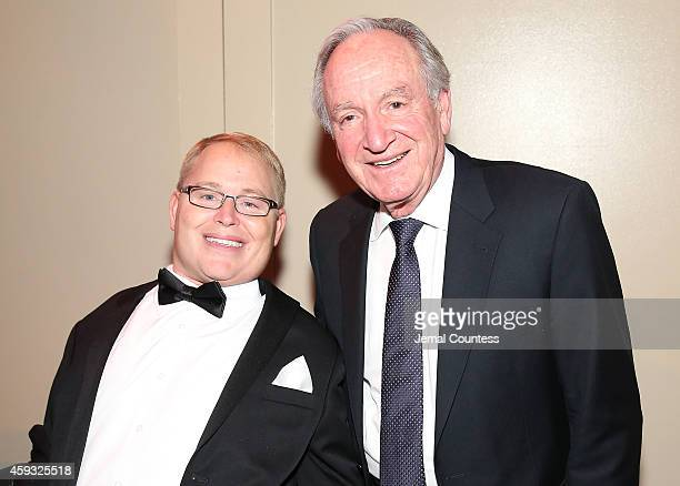 Honoree Travis Roy and United States Senator Tom Harkin attend The Christopher Dana Reeve Foundation 'A Magical Evening' on November 20 2014 in New...