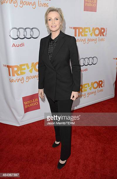 Honoree Trevor hero award/actress Jane Lynch attends TrevorLIVE LA honoring Jane Lynch and Toyota for the Trevor Project at Hollywood Palladium on...