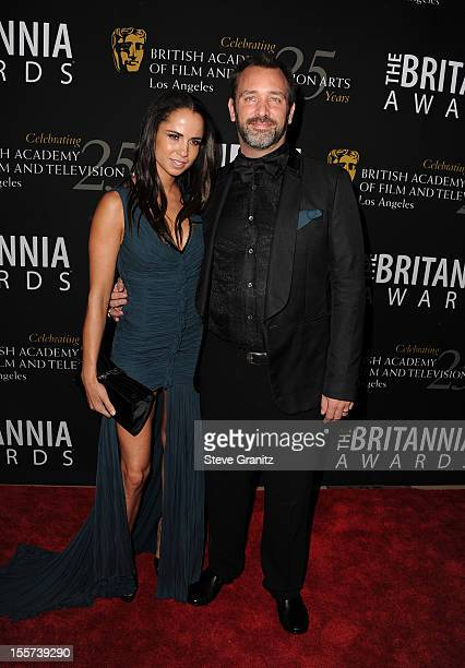 Honoree Trey Parker and Boogie Tillmon arrive at BAFTA LA 2012 Britannia Awards Presented By BBC America at The Beverly Hilton Hotel on November 7,...