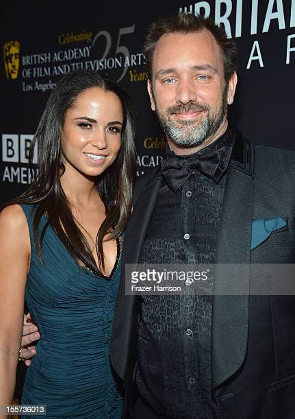 Honoree Trey Parker and Boogie Tillmon arrive at the 2012 BAFTA Los Angeles Britannia Awards Presented By BBC AMERICA at The Beverly Hilton Hotel on...