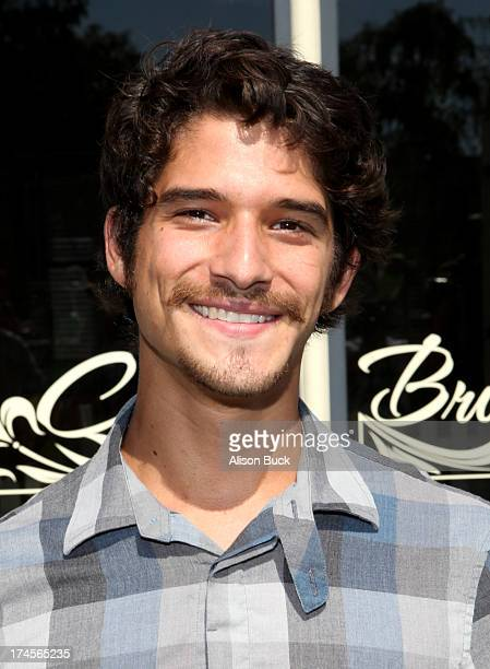 Honoree Tyler Posey attends Variety's Power of Youth presented by Hasbro Inc and generationOn at Universal Studios Backlot on July 27 2013 in...