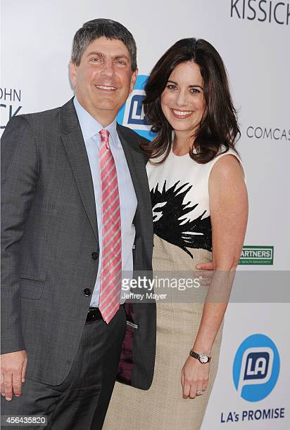 Honoree Universal Filmed Entertainment Chairman Jeff Shell and wife Laura Shell attend the 2014 LA's Promise Gala honoring exemplary advocates of...