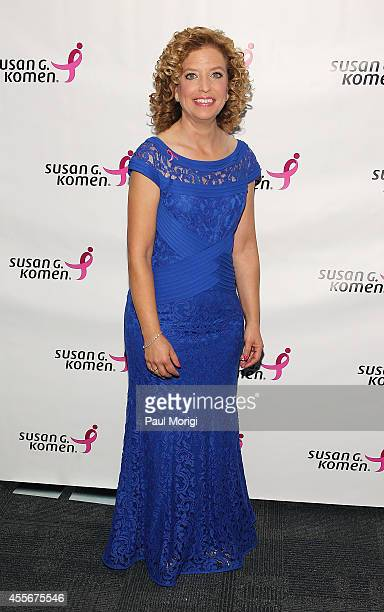 Honoree US Rep Debbie Wasserman Schultz attends the 2014 Susan G Komen Honoring The Promise Gala at John F Kennedy Center for the Performing Arts on...