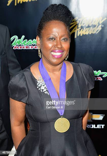Honoree Vicki Mack Lataillade attends the 30th annual Stellar Gospel Music Awards at the Orleans Arena on March 28, 2015 in Las Vegas, Nevada.