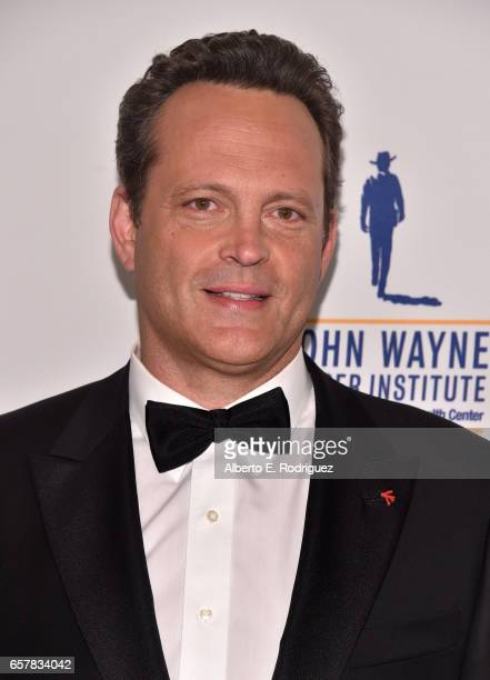 Honoree Vince Vaughn attends John Wayne Cancer Institute Auxiliary's 32nd annual Odyssey Ball at the Beverly Wilshire Four Seasons Hotel on March 25...