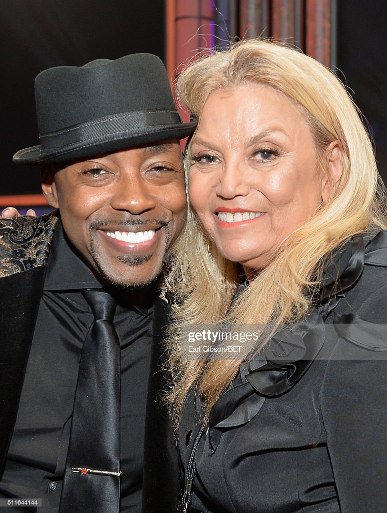 Honoree Will Packer (L) and producer Suzanne de Passe pose during the 2016 ABFF Awards: A Celebration Of Hollywood at The Beverly Hilton Hotel on February 21, 2016 in Beverly Hills, California.