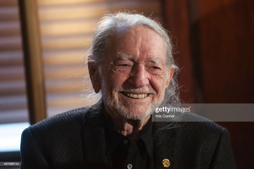 Honoree Willie Nelson attends the 2015 Gershwin Prize Luncheon where he was presented with a certificate and an American Flag in the Thomas Jefferson Building of the Library of Congress on November 17, 2015 in Washington, DC.