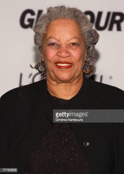 Honoree writer Toni Morrison attends The Glamour Magazine 2007 Women of The Year Awards at Lincoln Center's Avery Hall on November 5 2007 in New York...
