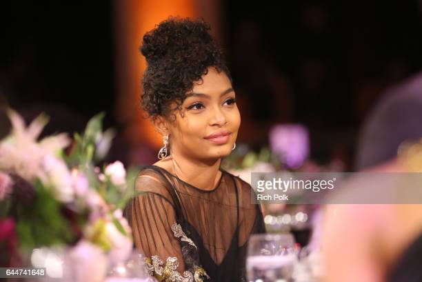 Honoree Yara Shahidi at Essence Black Women in Hollywood Awards at the Beverly Wilshire Four Seasons Hotel on February 23 2017 in Beverly Hills...